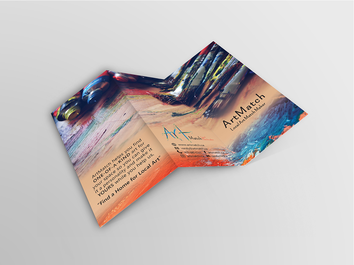 mananeh.art Graphic design Brochure-design